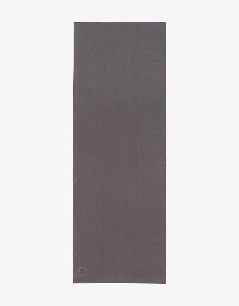 MANDUKA eQua Mat Towel - Standard - Thunder