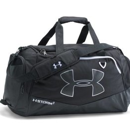 UNDER ARMOUR UA Undeniable MD Duffel II-BLK/BLK/WHT OSFA