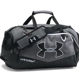 UNDER ARMOUR UA Undeniable MD Duffel II-GPH/BLK/WHT OSFA