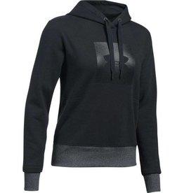 UNDERARMOUR Threadborne Fleece BL Hoodie - black