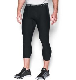 UNDER ARMOUR HG ARMOUR 2.0 3/4 LEGGING - black