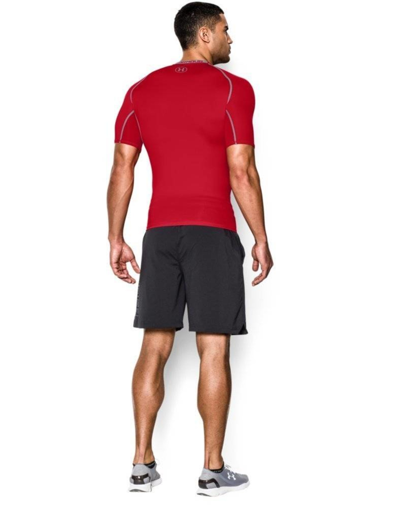 Under Armour HG Armour SS Compression - red