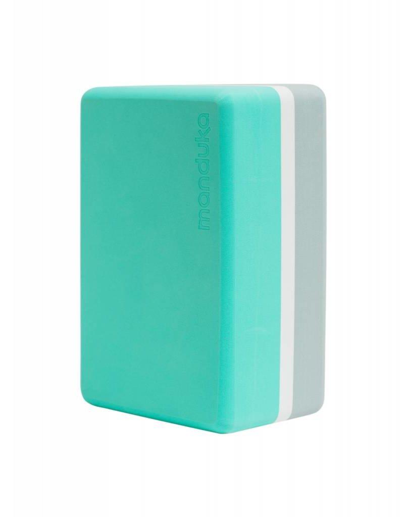 MANDUKA Yoga Blocks-R-Foam-Seafoam
