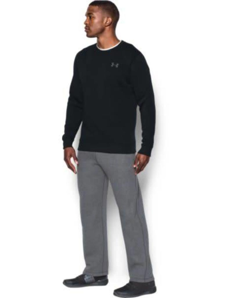 UNDERARMOUR Rival Solid Fitted Crew-BLK