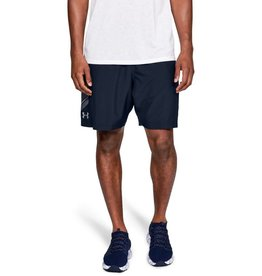 UNDERARMOUR Woven Graphic Short Blue