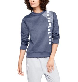 UNDERARMOUR SYNTHETIC FLEECE CREW WM - Blue
