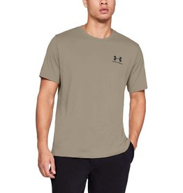 UNDERARMOUR SPORTSTYLE LEFT CHEST SS - Brown