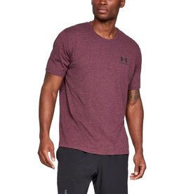 UNDERARMOUR SPORTSTYLE LEFT CHEST SS - Red