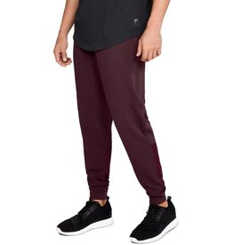 UNDERARMOUR MICROTHREAD TERRY JOGGER-RED