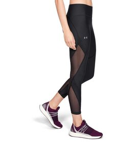 UNDERARMOUR UA Vanish Pleated Ankle Crop - Black