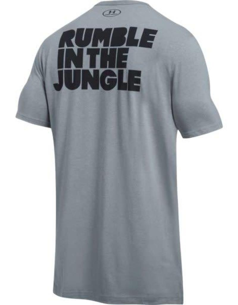 UNDERARMOUR Ali Rumble In The Jungle Tee - grey