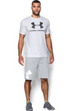 UNDERARMOUR Rival Exploded Graphic Short - grey