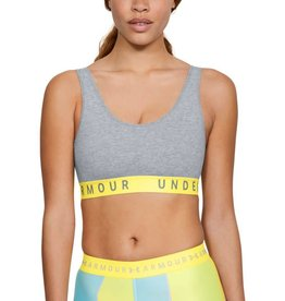 UNDERARMOUR Favorite Cotton Everyday Heather Bra -Grey