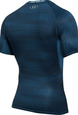 UNDERARMOUR HG Armour SS Compression - blue print