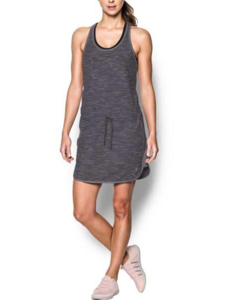 UNDERARMOUR Favorite Mesh Dress - grey XS