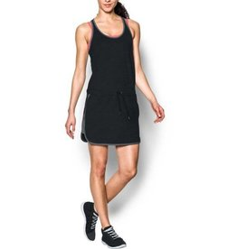 UNDERARMOUR Favorite Mesh Dress - black