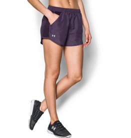 UNDERARMOUR Fly By Printed Short - purple