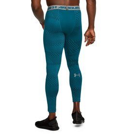 UNDERARMOUR ColdGear ARMOUR JACQUARD LEGGING-blue