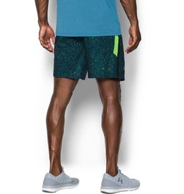 UNDERARMOUR UA LAUNCH SW 7'' PRINT SHORT-Blue