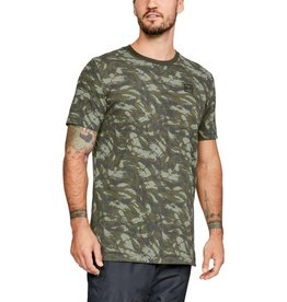 UNDERARMOUR AOP SPORTSTYLE SS TEE-GREEN
