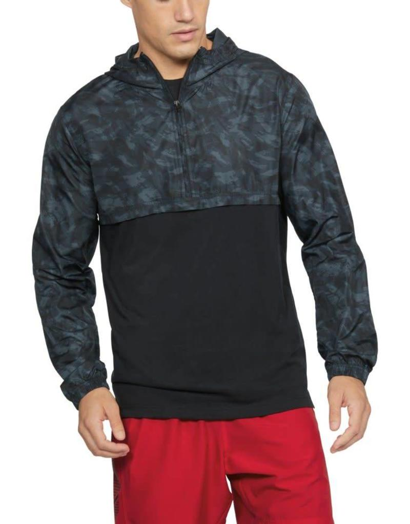 UNDER ARMOUR WIND ANORAK-BLACK