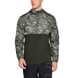 UNDER ARMOUR WIND ANORAK-GREEN