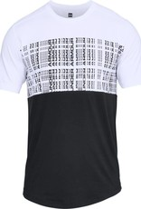 UNDERARMOUR UNSTOPPABLE CODED SS TEE-WHITE