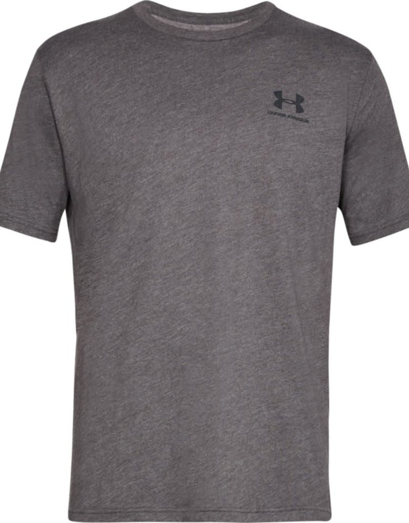 UNDER ARMOUR SPORTSTYLE LEFT CHEST SS - Grey