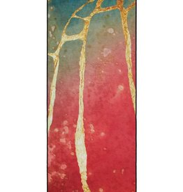Manduka YTRSKIDLESS towel -RIVER GOLD 2.0