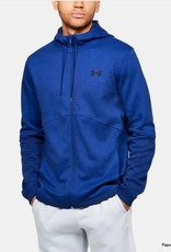 UNDER ARMOUR Double Knit full zip hoodie - electric blue