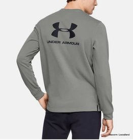 UNDER ARMOUR Sportstyle terry logo crew green