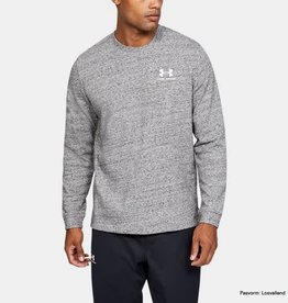 UNDER ARMOUR Sportstyle terry logo crew grey
