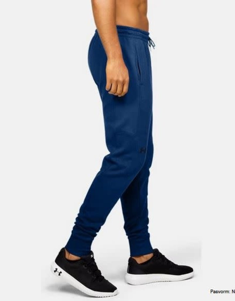 UNDER ARMOUR Double Knit jogger - electric blue