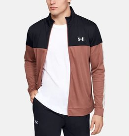 Under Armour Sportstyle pique track jacket salmon