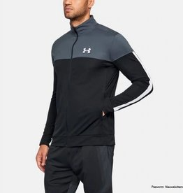 Under Armour Sportstyle pique track jacket grey