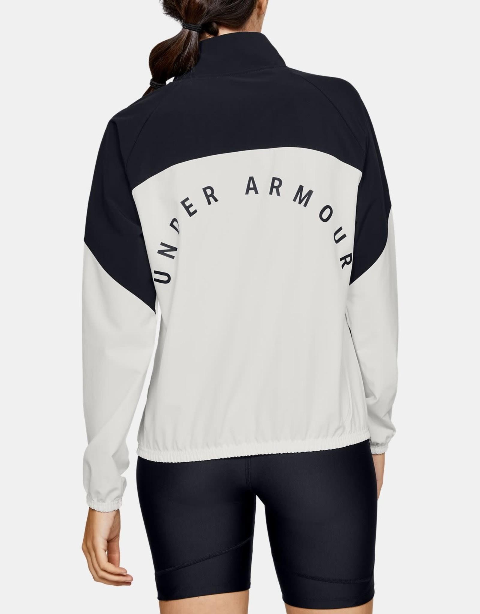 Under Armour Woven anorak white