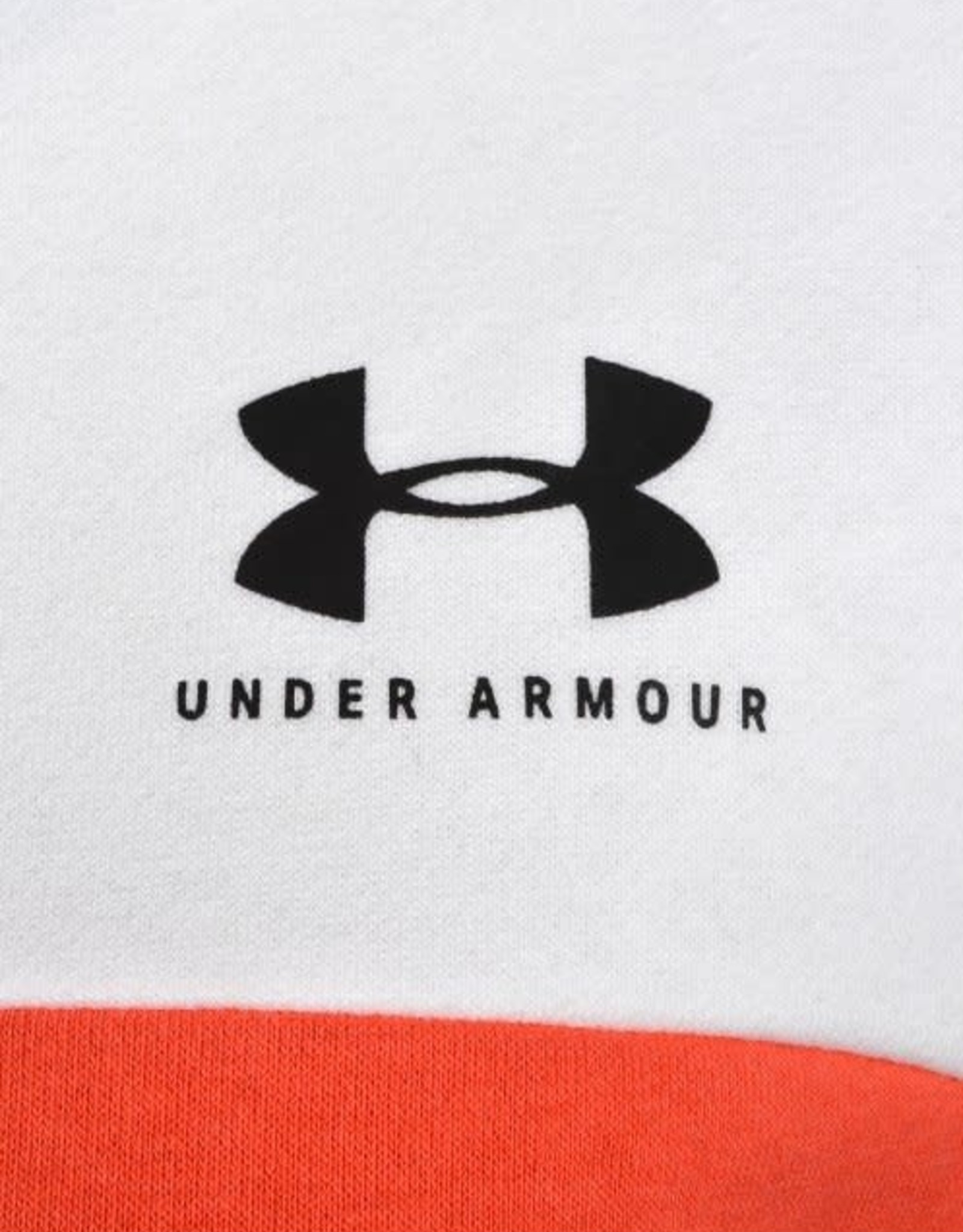Under Armour Rival fleece cb hoodie white