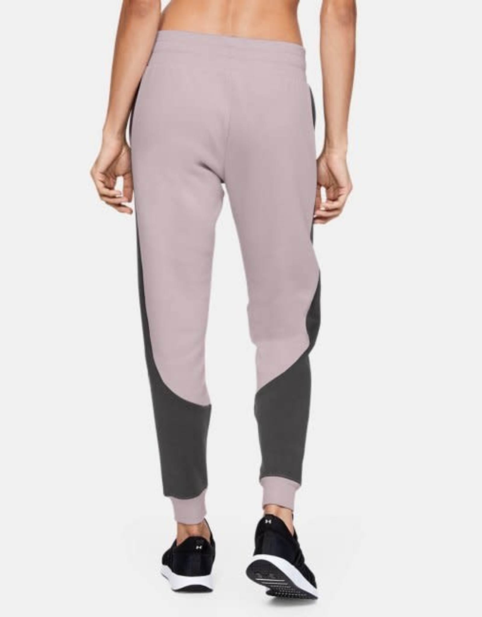 Under Armour Rival fleece fashion jogger pink