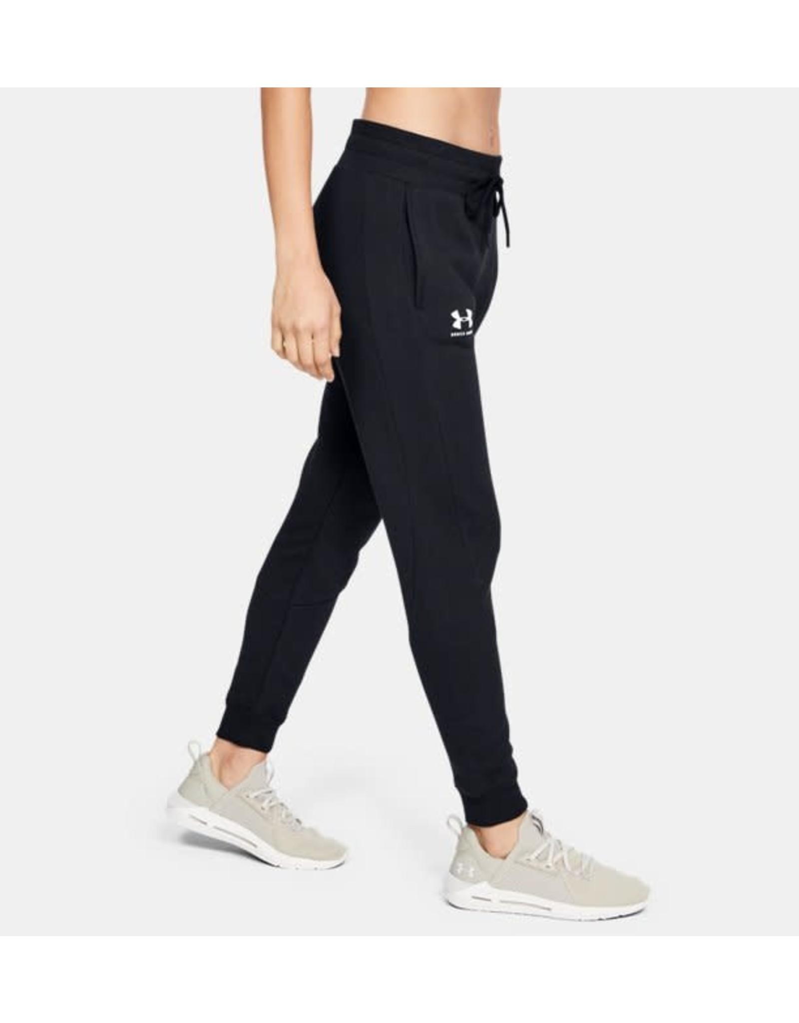 Under Armour Rival fleece fashion jogger black