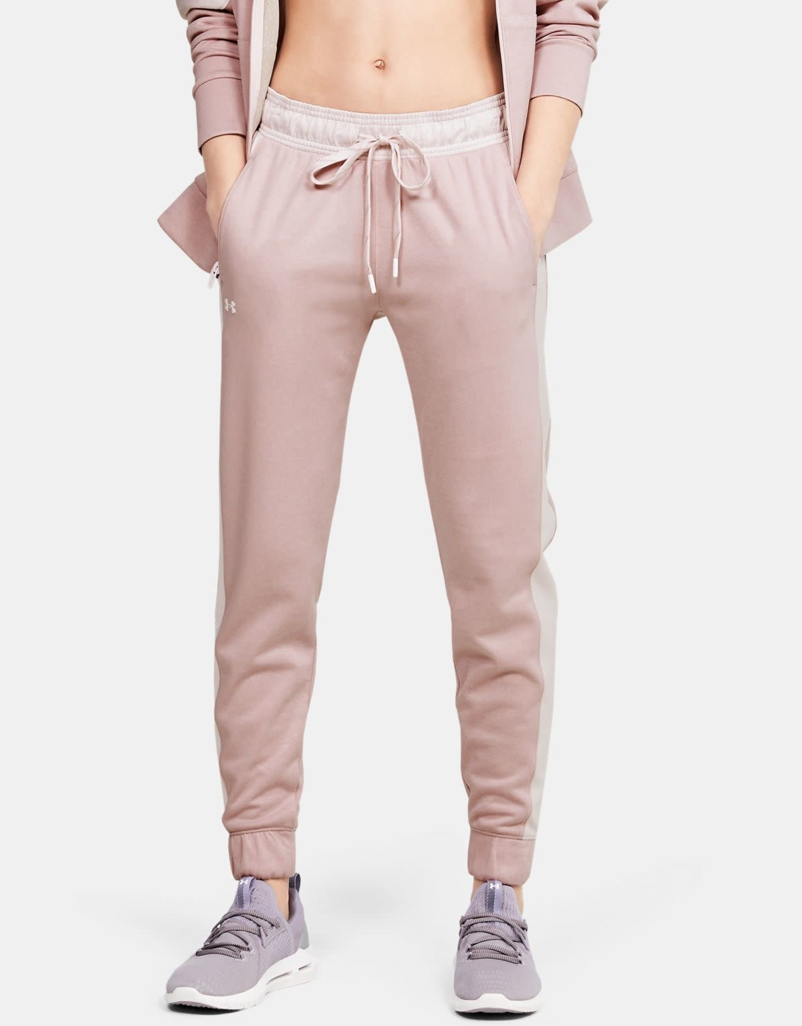 Under Armour Recover knit pants - pink