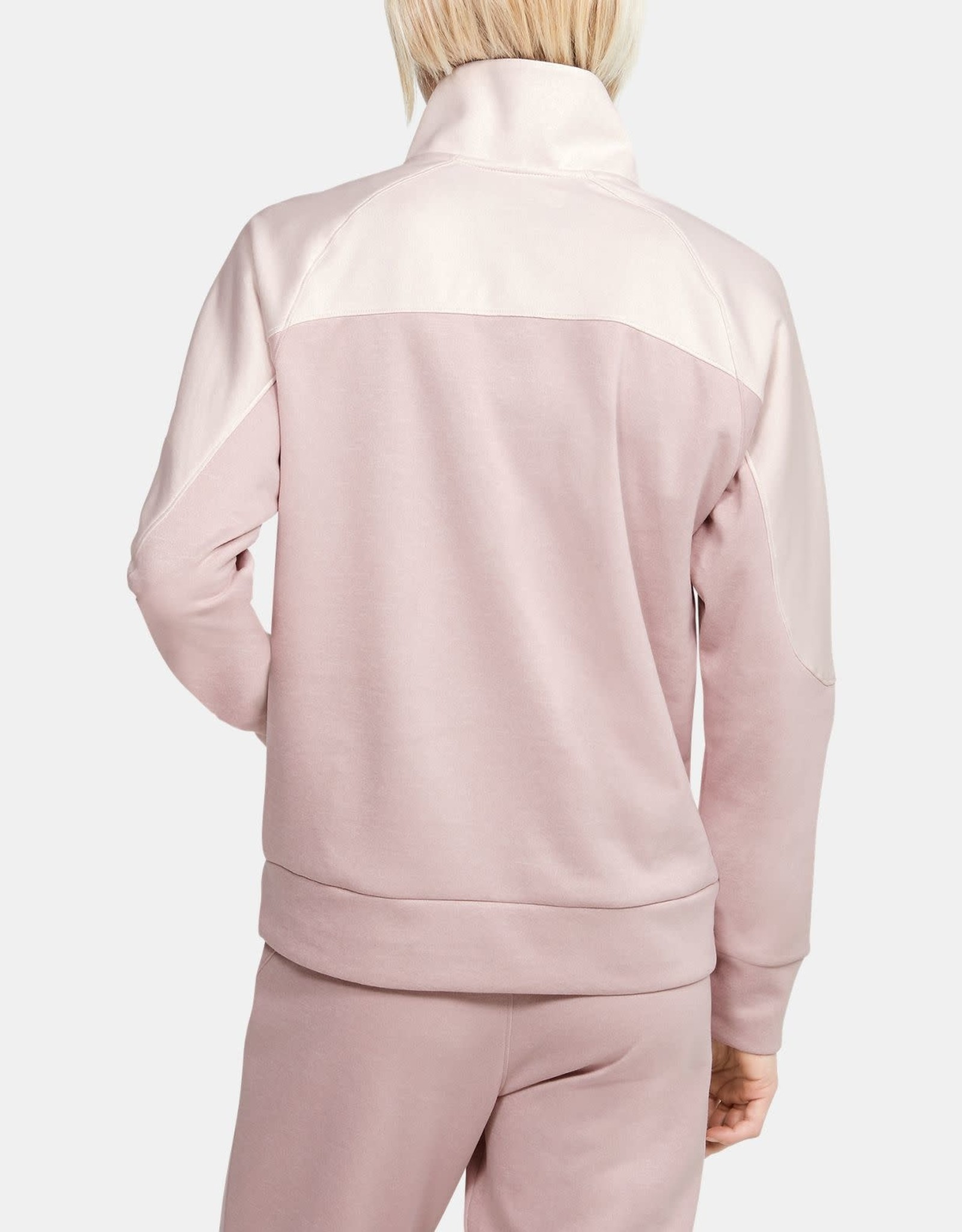Under Armour Recover knit 1/2 zip - pink