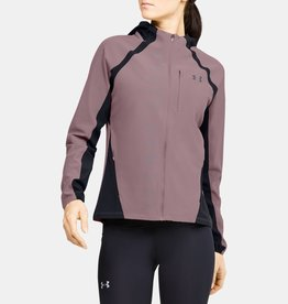 Under Armour Qualifier STORM jacket - pink
