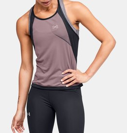 UNDER ARMOUR Qualifier iso-chill tank - pink