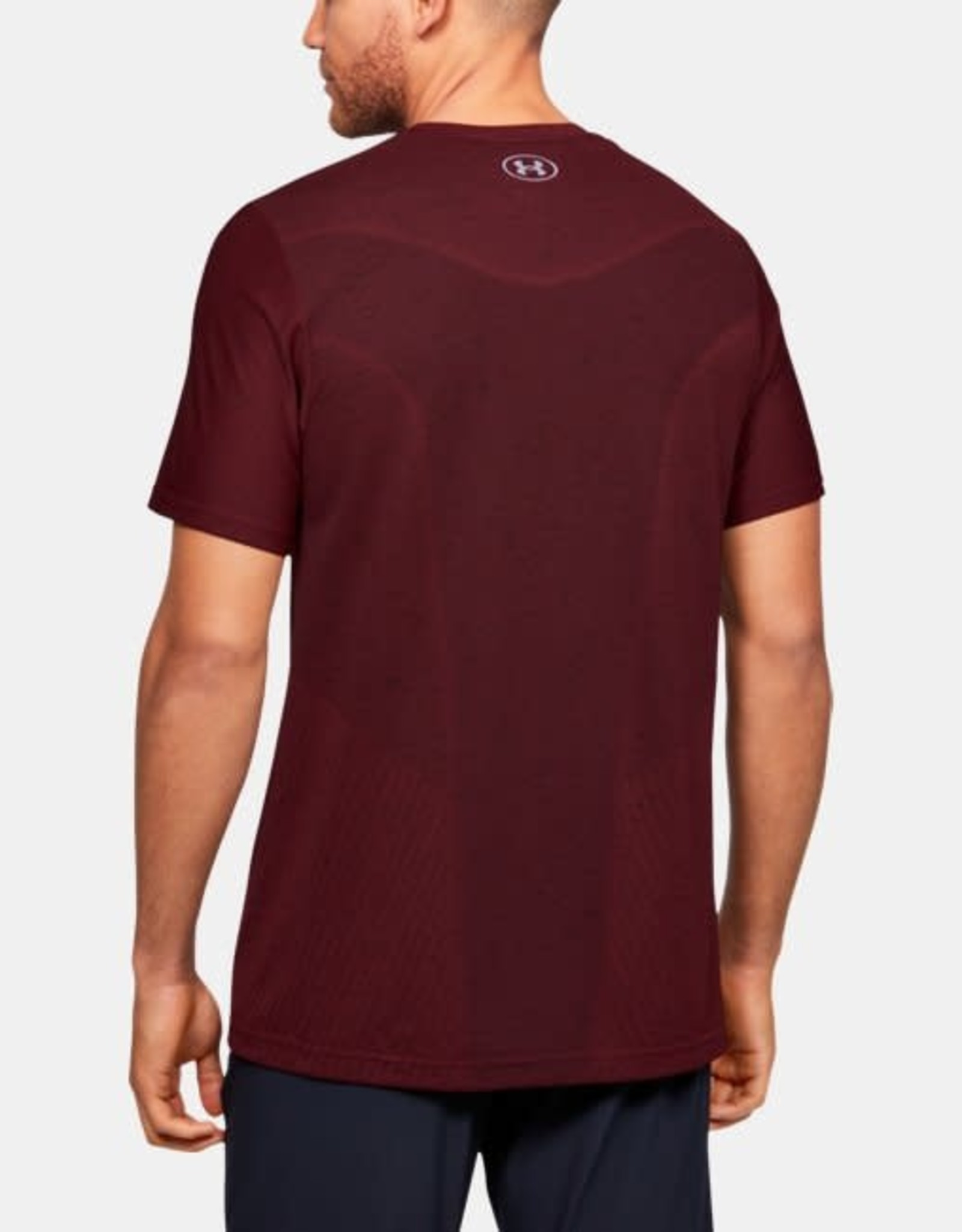 Under Armour Seamless Tee - deep red