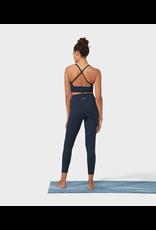 Manduka High line legging - dark sapphire