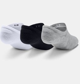 Under Armour Ultra low 3 pack - white