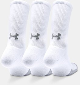 Under Armour Heatgear crew 3 pack - white