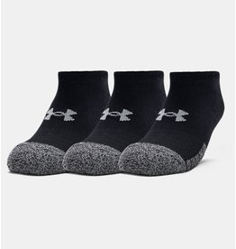Under Armour Heatgear no show 3 pack - black