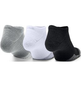 Under Armour Heatgear no show 3 pack - grey