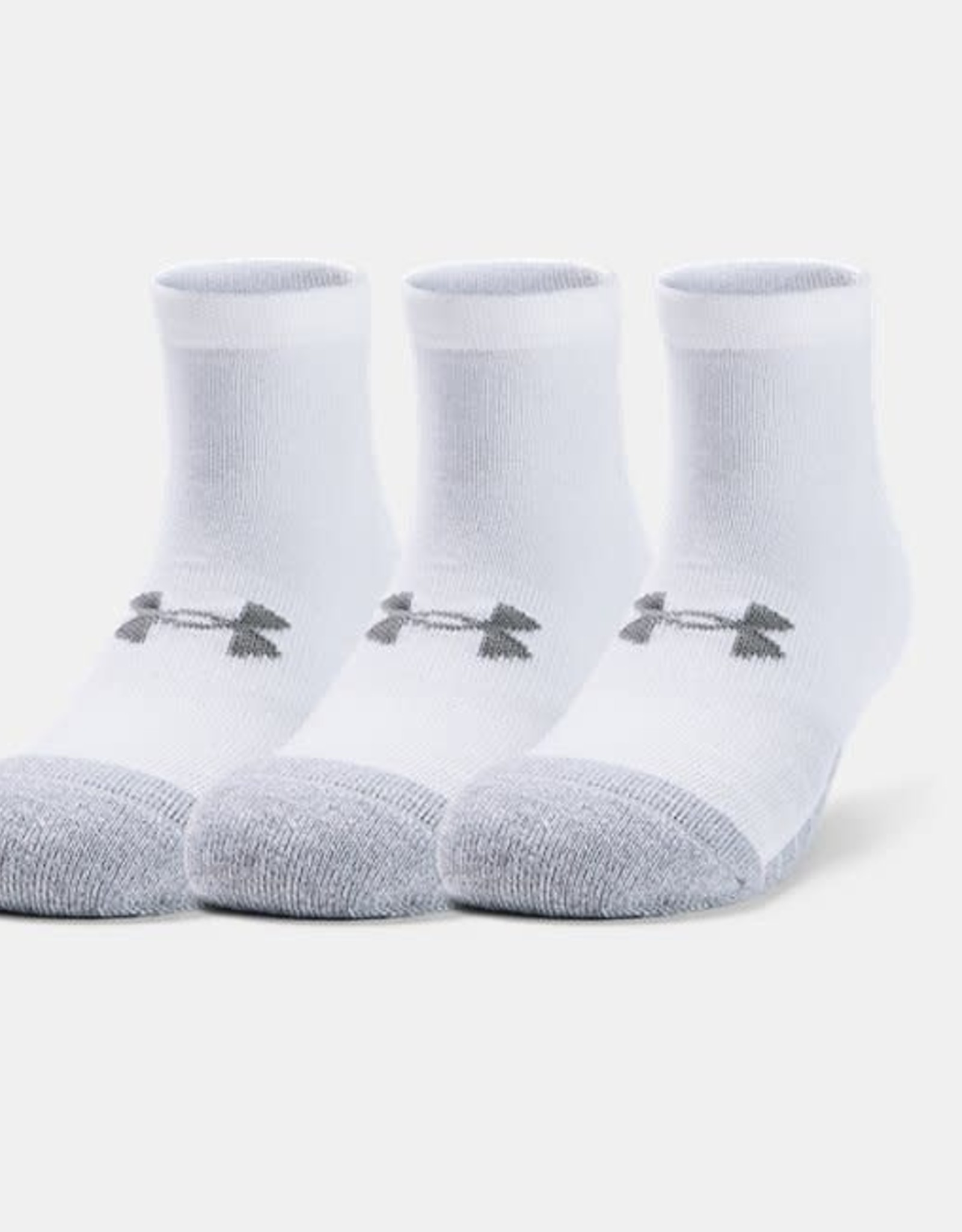 Under Armour Heatgear locut 3 pack - white